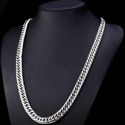 Stainless Steel Necklace for Men Ne..
