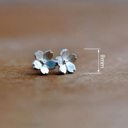 925 Sterling Silver Earrings Stud D..