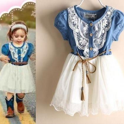 Baby Cowgirl Dress for 9 to 12 Mont..