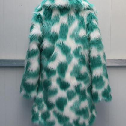 Green Magic Warm and Cozy Faux Fur ..
