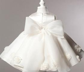Newborn Dress White ..