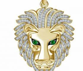 Trendy Golden Lion H..
