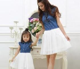 Cute Denim Dress for..