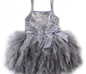 Gray Tutu Dress for ..