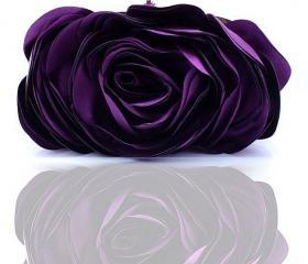 Purple Clutch Women ..