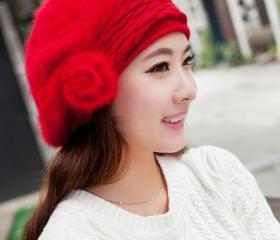 Red Beanie Rabbit Fu..