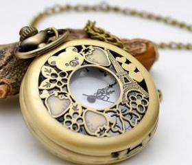 Antique Bronze Watch..