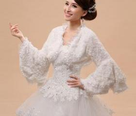White Bridal Coats R..