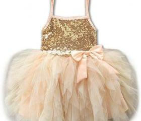 Peach Tutu Dress Pea..