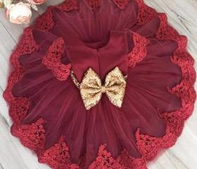 Red Dress for 3-6 Mo..