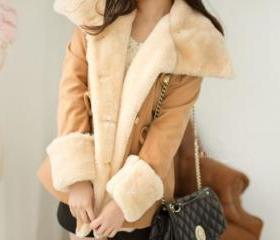 Beige Wool Jackets w..