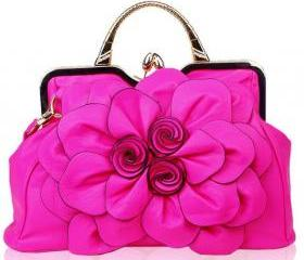 Luxury Hot Pink Purs..