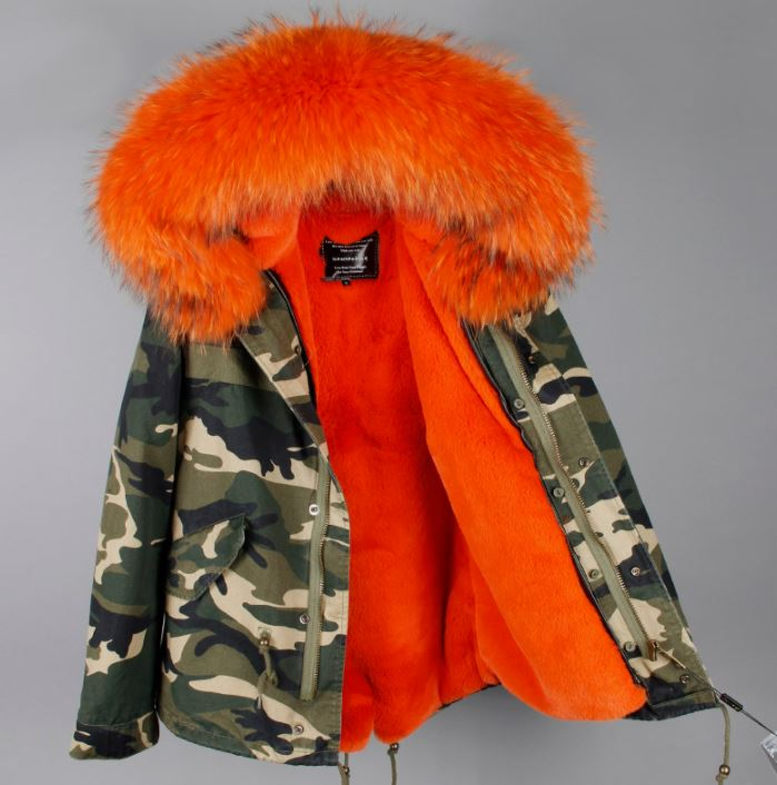Unisex Orange Parkas Skiing Winter Jackets with Hood Super High Quality Thick and Warm Jackets