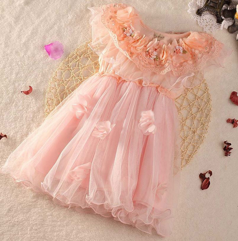 24 Months Toddler Dress Pink Dress for Girls Wedding Dress Prom Dress Birthday party Dress