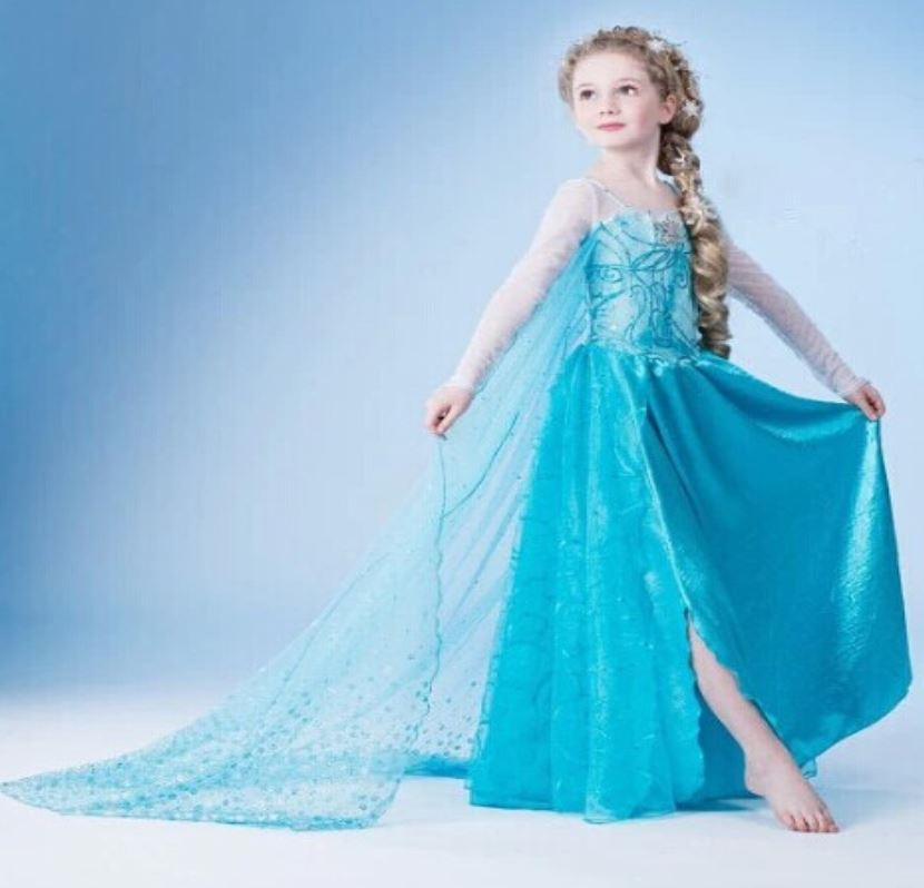 Princess Elsa Dress Ready To Ship For 10 Year Old Little Girls ...