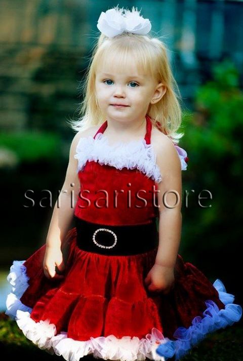 df1602de2e2 Super Cute Christmas Dress For Toddler Girls-Pageant
