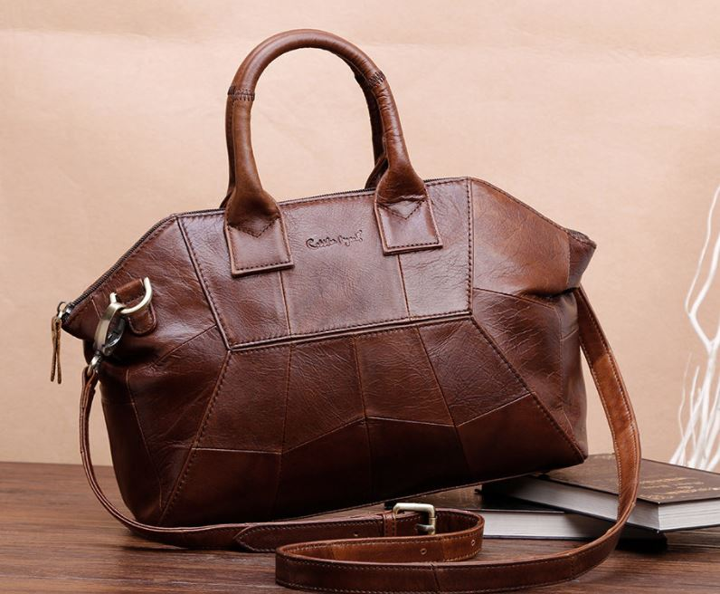 Ready for Shipping-Brown Leather Bags Exquisite Luxury Bags for Mother's Day Gift for Wifey