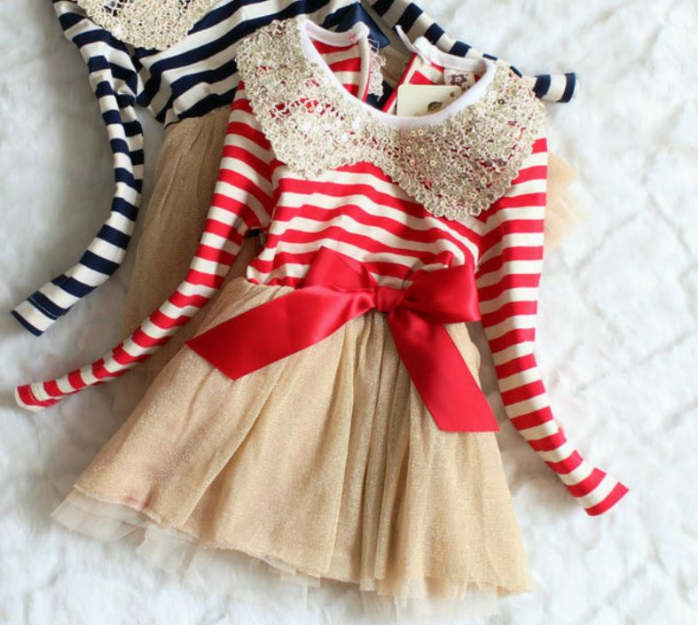 12-24 Months Christmas Dress Infant Girls-Candy Canes Dresses for Girls is  READY - 12-24 Months Christmas Dress Infant Girls-Candy Canes Dresses For