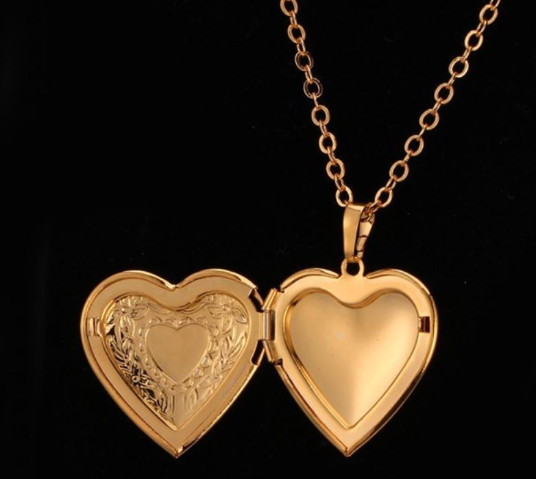 Top Gold Lockets For Teen Girls Lockets For Women Lockets Gold Silver  WD48