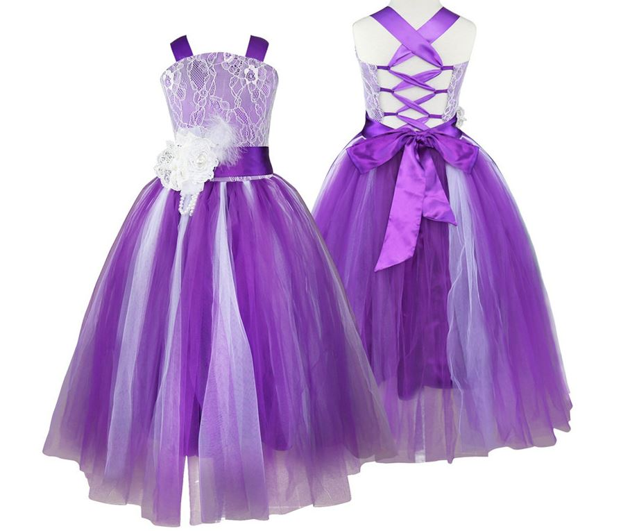 Purple Dress For Girls Wedding Purple Outfit 5T Purple Dress on Luulla