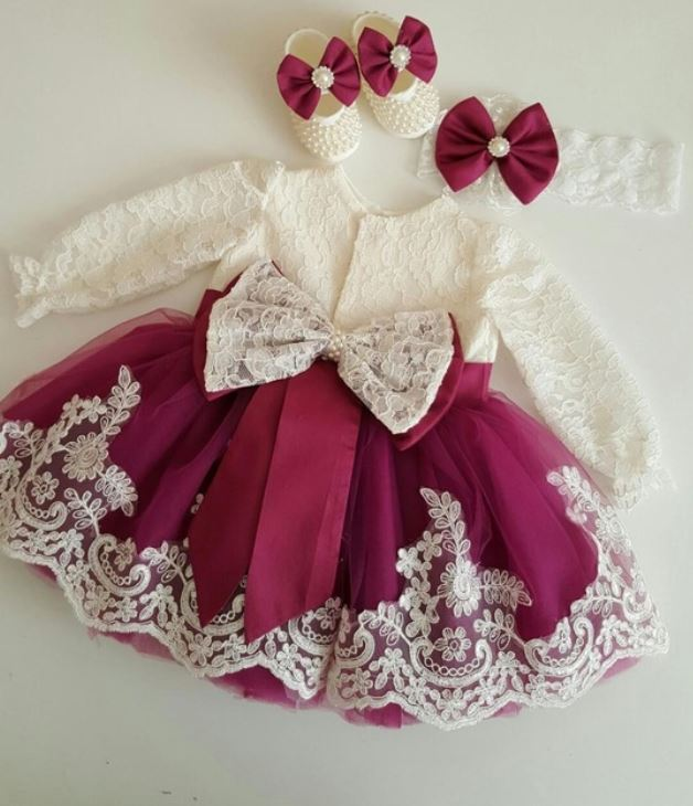 d00a6da855f Red Baby Dress Ballgown Pageant Dress Holiday Dress for Girls Infant Girls  Luxury Dresses