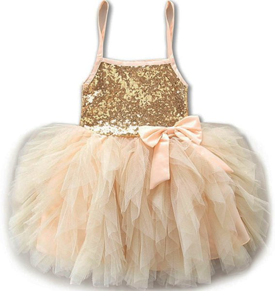 Peach Tutu Dress Peach Dress Baby Formal Ballgown Tiered Spaghetti Dress Ballerina Little Girls Outfit