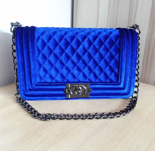 Womens Fashion Royal Blue Crossbody Bags Leather Bags Quality ...