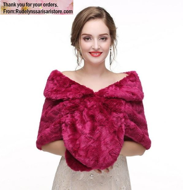 Magenta Red Bridesmaids Shawl Bridesmaids Shrugs Mother of the Bride Shawl Wraps for Women