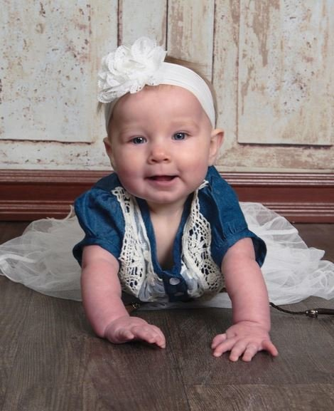 Baby Cowgirl Dress for 9 to 12 Months 12 to 24 Months Denim Dress Western Style