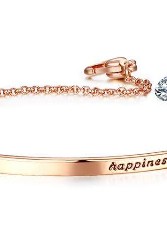 Top Quality Happines Bracelet Gift Feminine Friendship Gifts Bracelets for Women