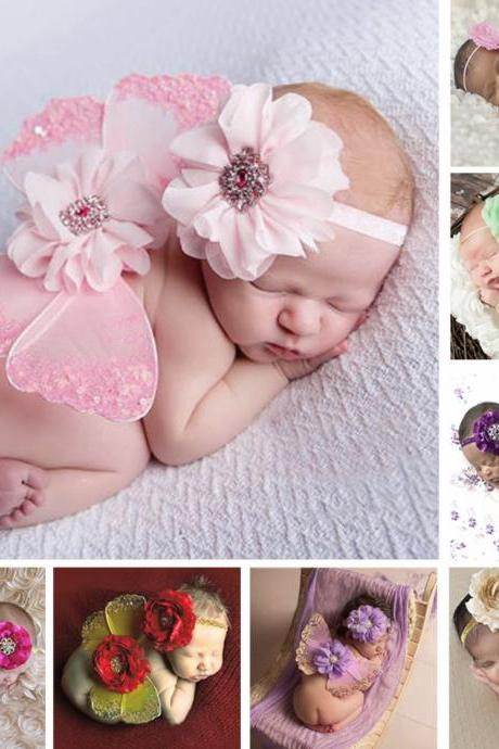 Newborn Baby Photography Prop Photo Butterfly Wings Baby Photo Props Accessories