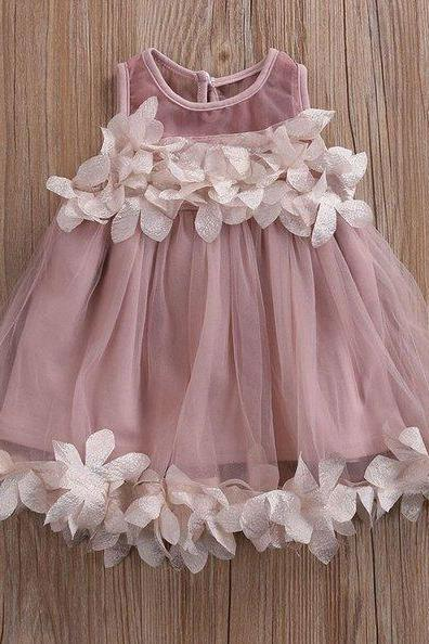 Girls Dress Purple Baby Dress Infant Girls Lacy Tutu Dress Dusty Purple Dress with Matching Floral Headband