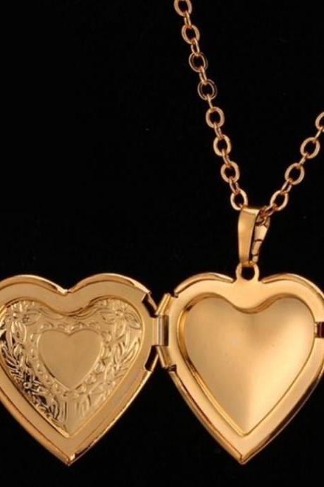 READY TO SHIP Golden Lockets For Teen Girls Lockets for Women Lockets Golden Necklaces
