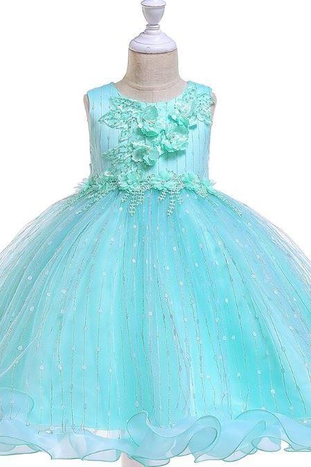 Little Princess Cinderella Dress for Baby Girls 3-6mos,6-9mos,9-12mos,12-24mos Infant Girls Birthday Girls Dresses