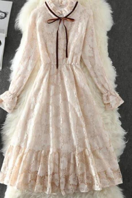 RSS Boutique New Fashion Legacy Dress Lacy Ivory Dress for Women Ivory Dress for Teenage Girls