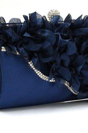 New Clutches for Women Navy Blue Bags for Women is Ready to Ship