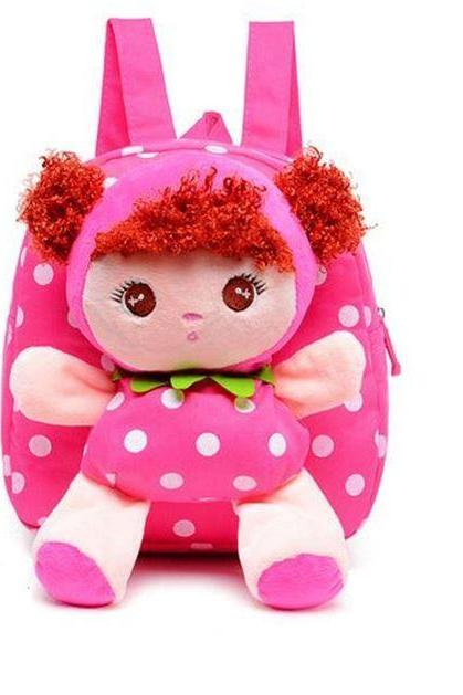 Kindergarten Baby Girls Backpacks Canvas Material Birthday Girls Gift for Grandchild-Stuff Dolls for Baby Girls
