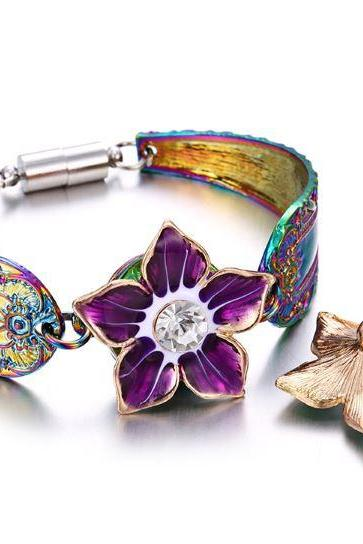 50% Off Magnetic Snap Bracelets New Trendy Bangles for Women