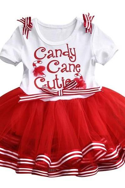 Rsslyn Merry Christmas Dresses for Baby Girls Free Red Bow Headband 9 Months 4T Girls Red Pageant Dresses