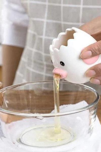 Rsslyn Egg White Separator Ceramic Food Grade Kitchen Tools RSS13-352021 Cute Little Things in Your Kitchen