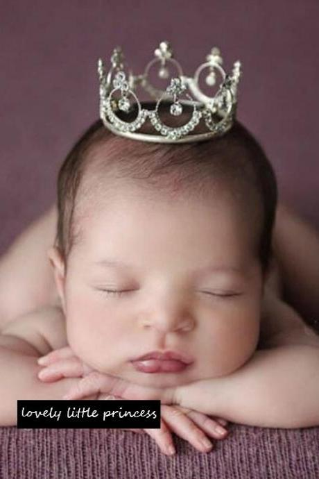 New Crown Props for Baby Girls Crown Tiaras for Newborn Girls Photography Photo Shoots