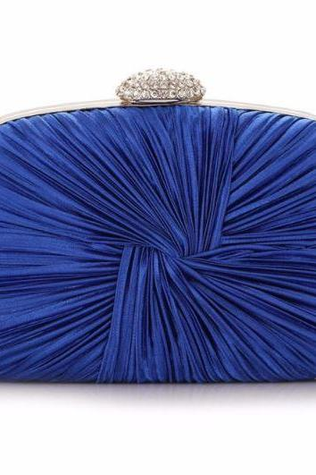 Royal Blue Clutch for Women Hasp Prom Clutch Evening Clutches Royal Blue Handbags