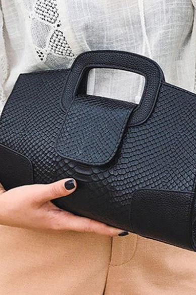 Luxury Bags for Women Genuine Leather Black Purse for Women Black Handbags