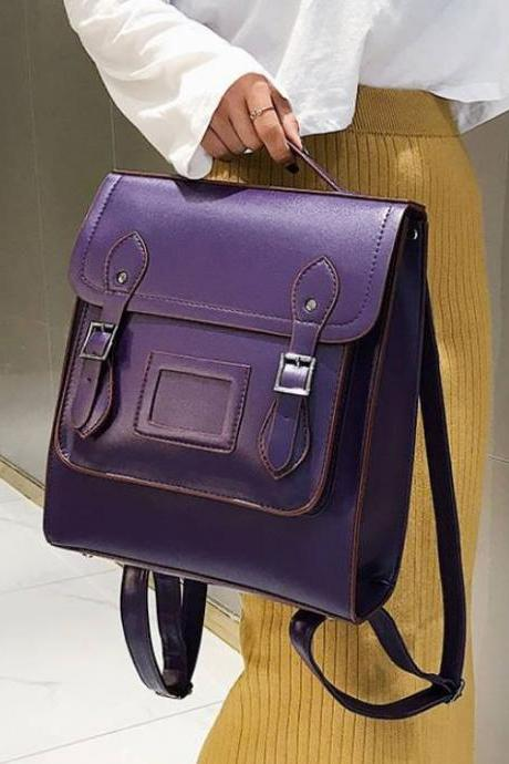 Purple Backpacks for Women-Purple Backpack for College Students-Purple Bags for Women-Purple Tote Bags