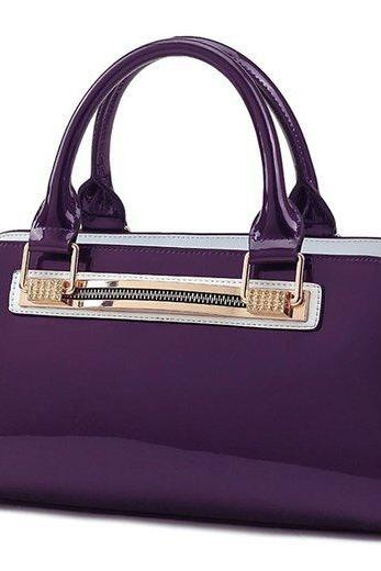 Purple Tote for Women Ready for Shipping Durable High Quality Purse Purple Shoulder Bags