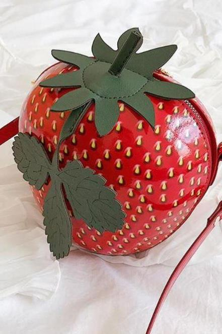 Strawberry Bags for Women Strawberry Collection Free Shipping