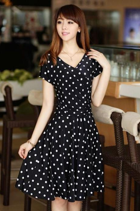 Womens Polka Dots for Modest Women Polka Dots Medium Size