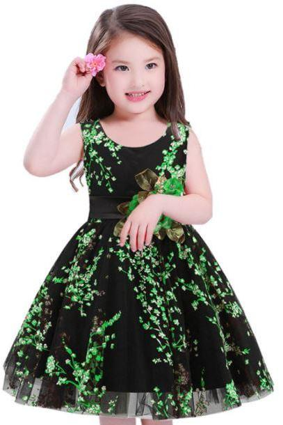 Green Lace Tutu Dress for Girls Green Dress for Flower Girls Christmas Birthday Girls Outfit