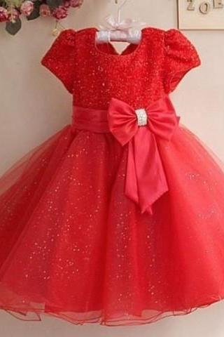 red formal dress for girls wedding birthday pageant outfit red tutus