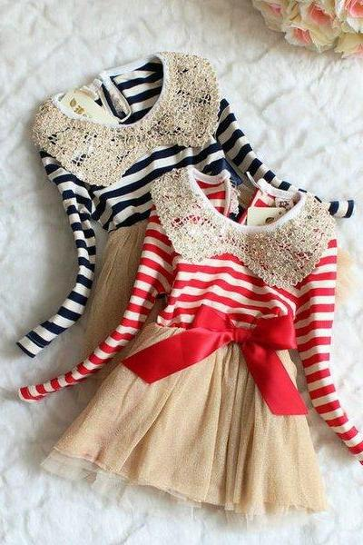 Merry Christmas Dress for Toddler Girls Free Headband for Baby Girls